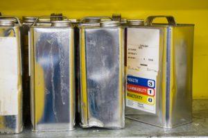 VOC chemical cans