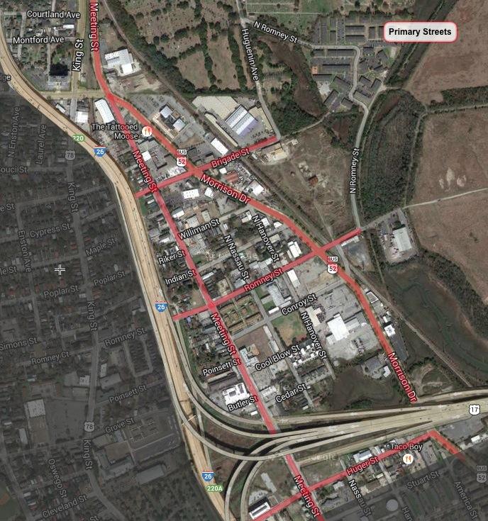 Upper Peninsula Initiative primary streets