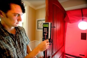 CharlestonWISE Blower Door Test - Colin
