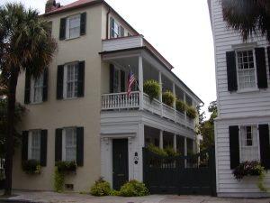 Charleston Single House Piazzas